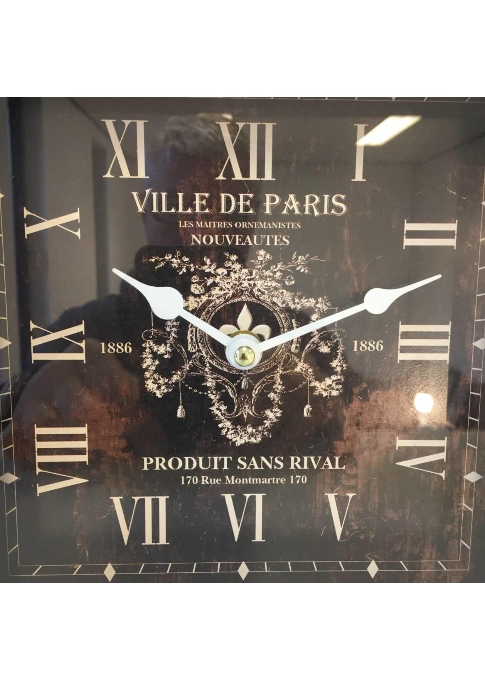 NiceTime Tafelklok Paris Rouge