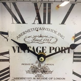 NiceTime Tischuhr Vintage PORT LONDON
