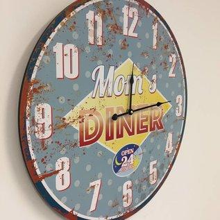NiceTime Wanduhr Mom's diner