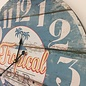 NiceTime Wanduhr Vintage Tropical Bar