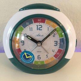 Atlanta Kinder Erwe Attacker mit Funktions-Leder Uhr Grun-weisse