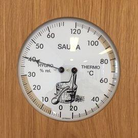 NiceTime Sauna Thermo- Hygrometer, 180 x 200 mm