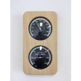 NiceTime Sauna Thermo- Hygrometer, 240 x 131mm