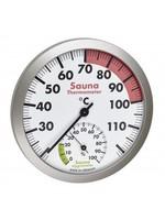 NiceTime Sauna Thermo-Hygrometer, 120mm