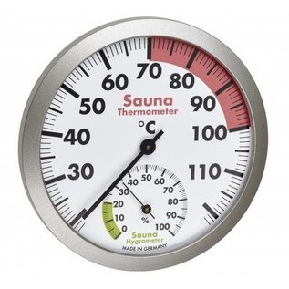 NiceTime Sauna Thermo- Hygrometer, 120mm