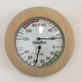 NiceTime Sauna Thermo / Hygrometer, 136mm