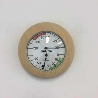 NiceTime Sauna Thermo-/Hygrometer, 136mm