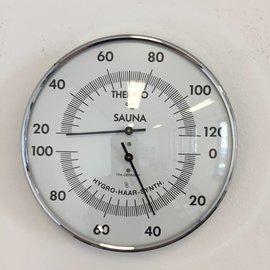 NiceTime Sauna Thermo-/Hygrometer, Ø 132mm