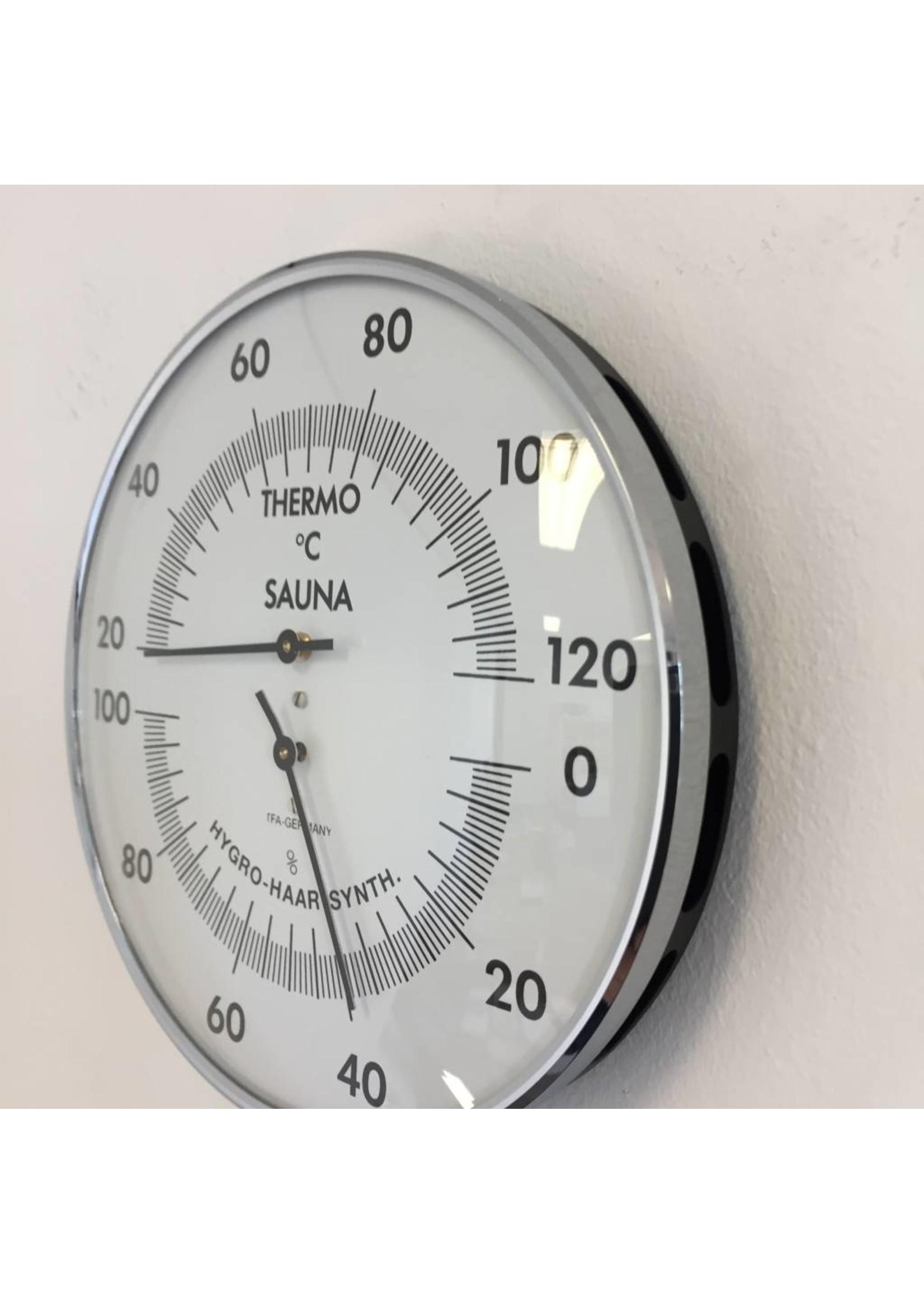 NiceTime Sauna Thermo-/Hygrometer, 132mm