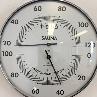 NiceTime Sauna Thermo-/Hygrometer, 132mm