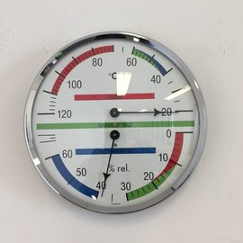 NiceTime Sauna Thermo-/Hygrometer, Ø 136mm
