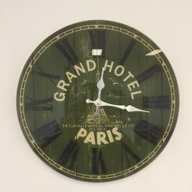 NiceTime Wandklok Grand Hotel Paris