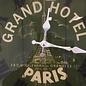 NiceTime Wanduhr Grand Hotel Paris