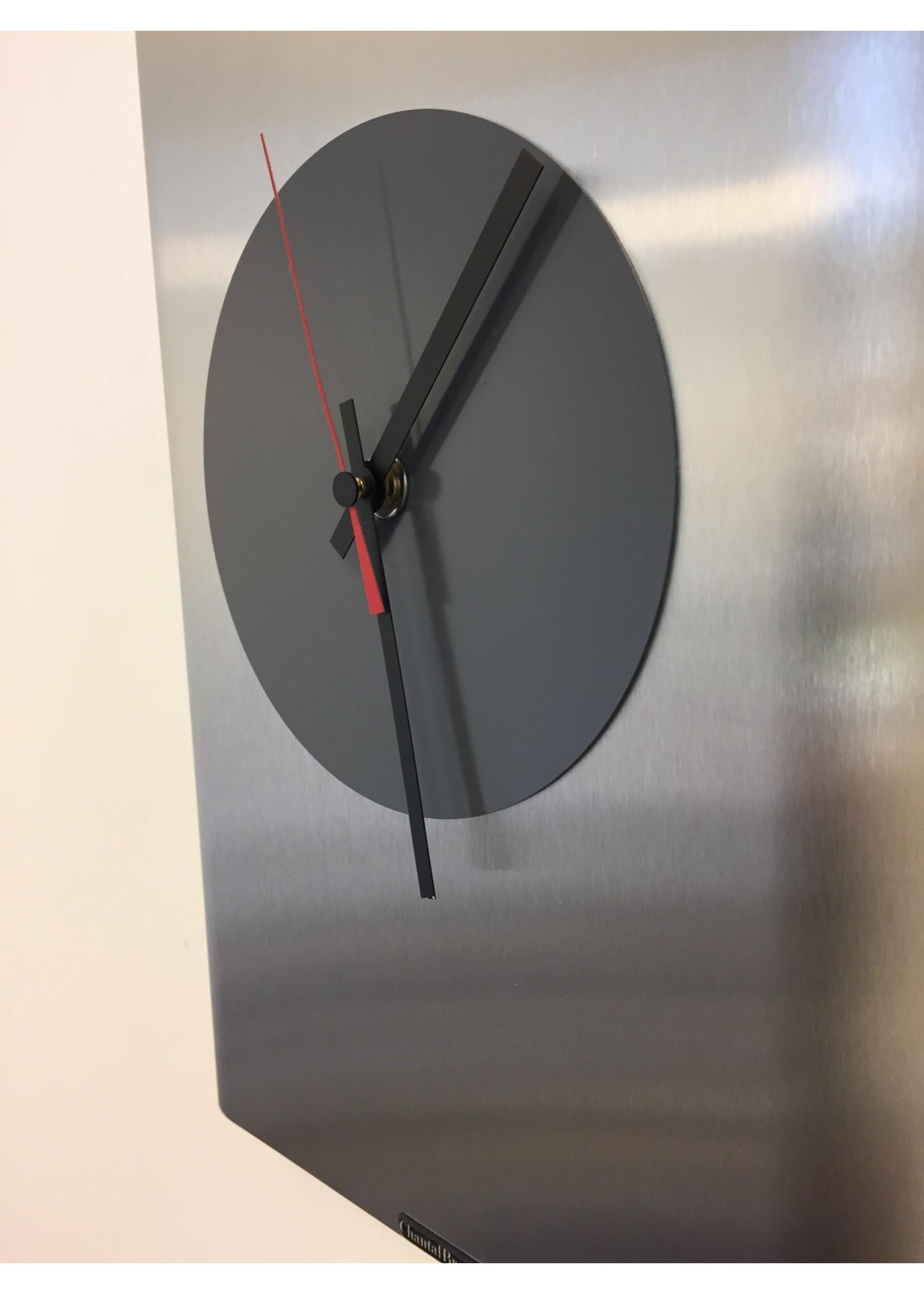 Klokkendiscounter Wandklok RVS Leeuwarden Design