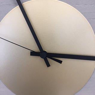 Klokkendiscounter Wanduhr Quinten GOLD Modern Design