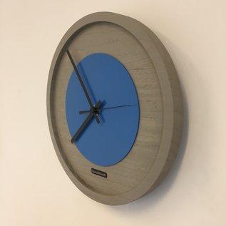ChantalBrandO Wandklok Quinten BLUE Modern Design