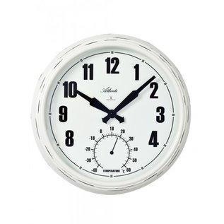 NiceTime Wanduhr met thermometer modern design