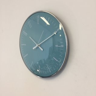 NiceTime Wanduhr Blue STYLUS Modern Design