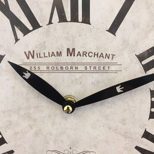 NiceTime Wanduhr William Marchant BLANC VINTAGE