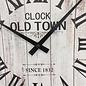 NiceTime Wanduhr OLD TOWN 1832 Vintage RETRO