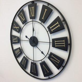 Klokkendiscounter Wandklok REGINA ROMANA 76 Industrieel Vintage