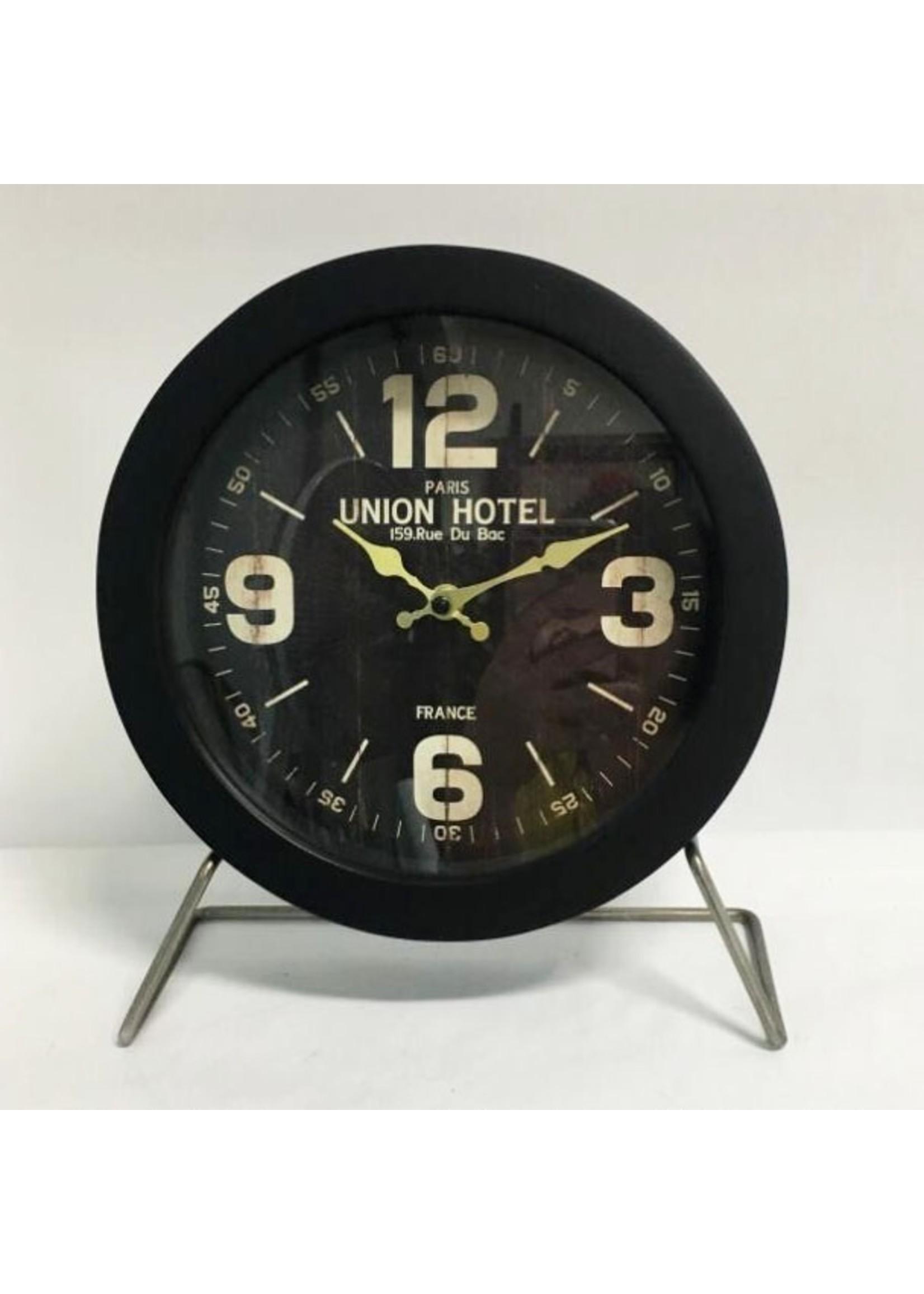 NiceTime Tafelklok Black Union Vintage Design