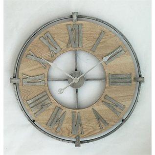 NiceTime Wandklok Vintage Caesar Industrieel Design