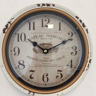 NiceTime Wanduhr retro Chateau Margaux Vintage