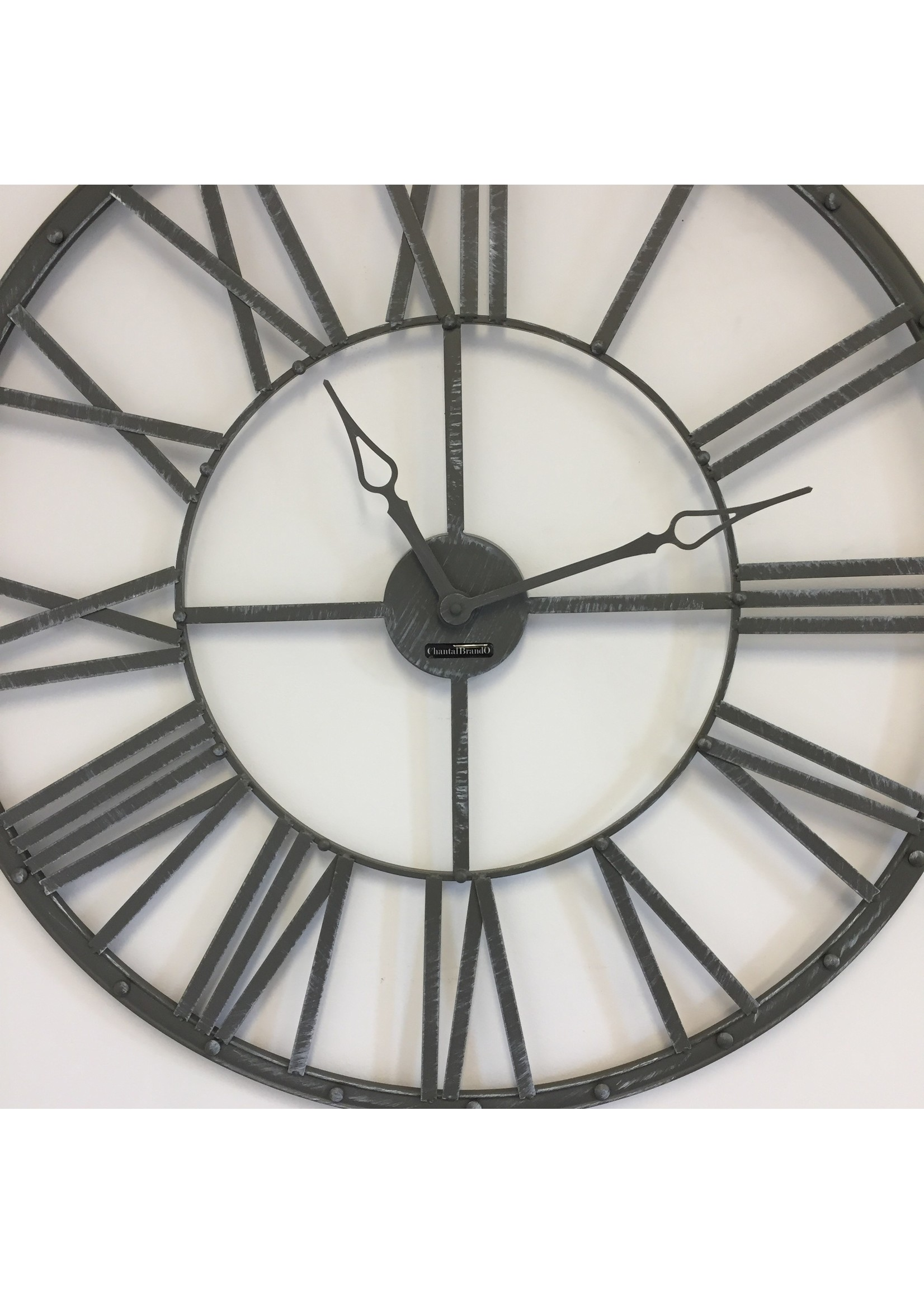 Klokkendiscounter Wandklok Vintage Grey 70