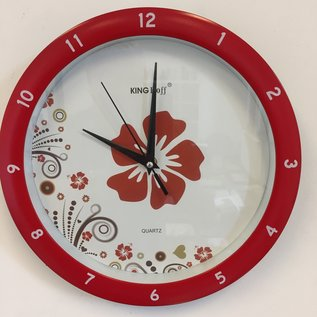 NiceTime Wanduhr Flower Power
