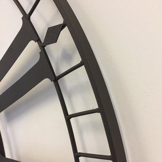 Klokkendiscounter Wandklok Prix de Rome MARRONE Vintage Industrieel