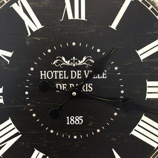 NiceTime Wanduhr hotel de Ville 1885 Vintage Industrieel