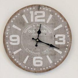 NiceTime Wandklok TIME vintage Industrieel