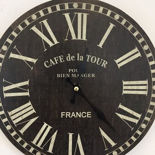 NiceTime Wanduhr De La Tour Vintage Industrieel
