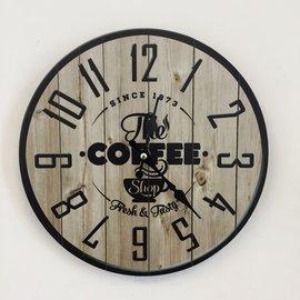 NiceTime Wanduhr COFFEE 1873 VINTAGE INDUSTRIAL