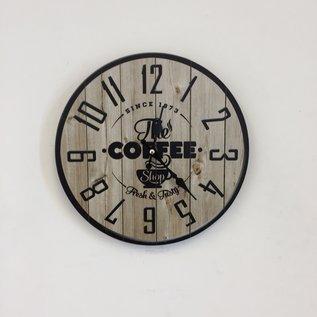 NiceTime Wanduhr COFFEE 1873 VINTAGE INDUSTRIEEL