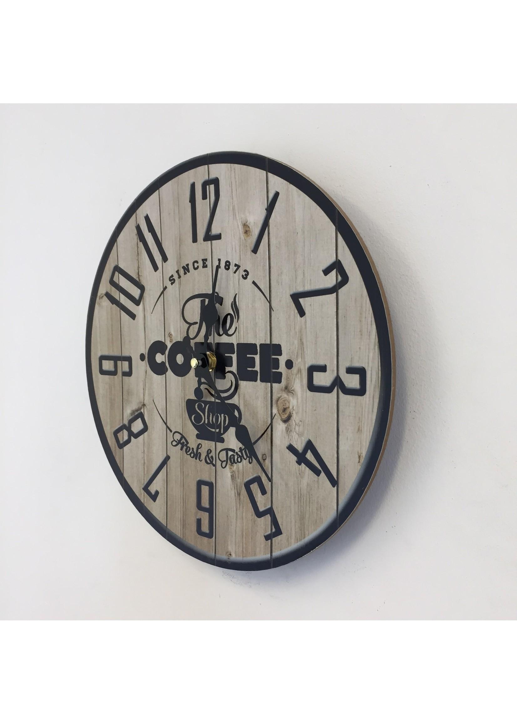 NiceTime Wandklok COFFEE 1873 VINTAGE INDUSTRIEEL