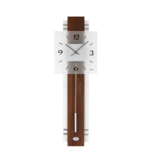 AMS Wanduhr Walnoot Modern Design