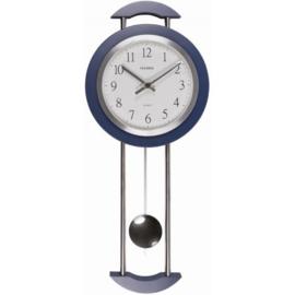 Pevanda Wandklok Blue Pendulum Modern Design