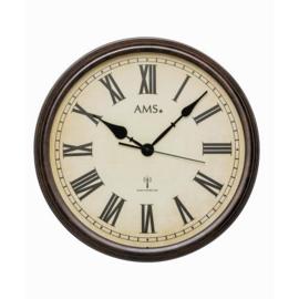 AMS Wanduhr Early Days modernes Vintage-Design
