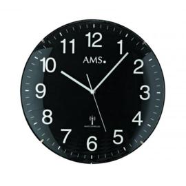 AMS Wandklok Black Amazone Modern Design