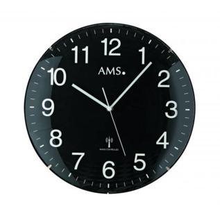 AMS Wanduhr Black Amazone Modern Design