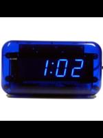 Wekker LED BLUE modern design