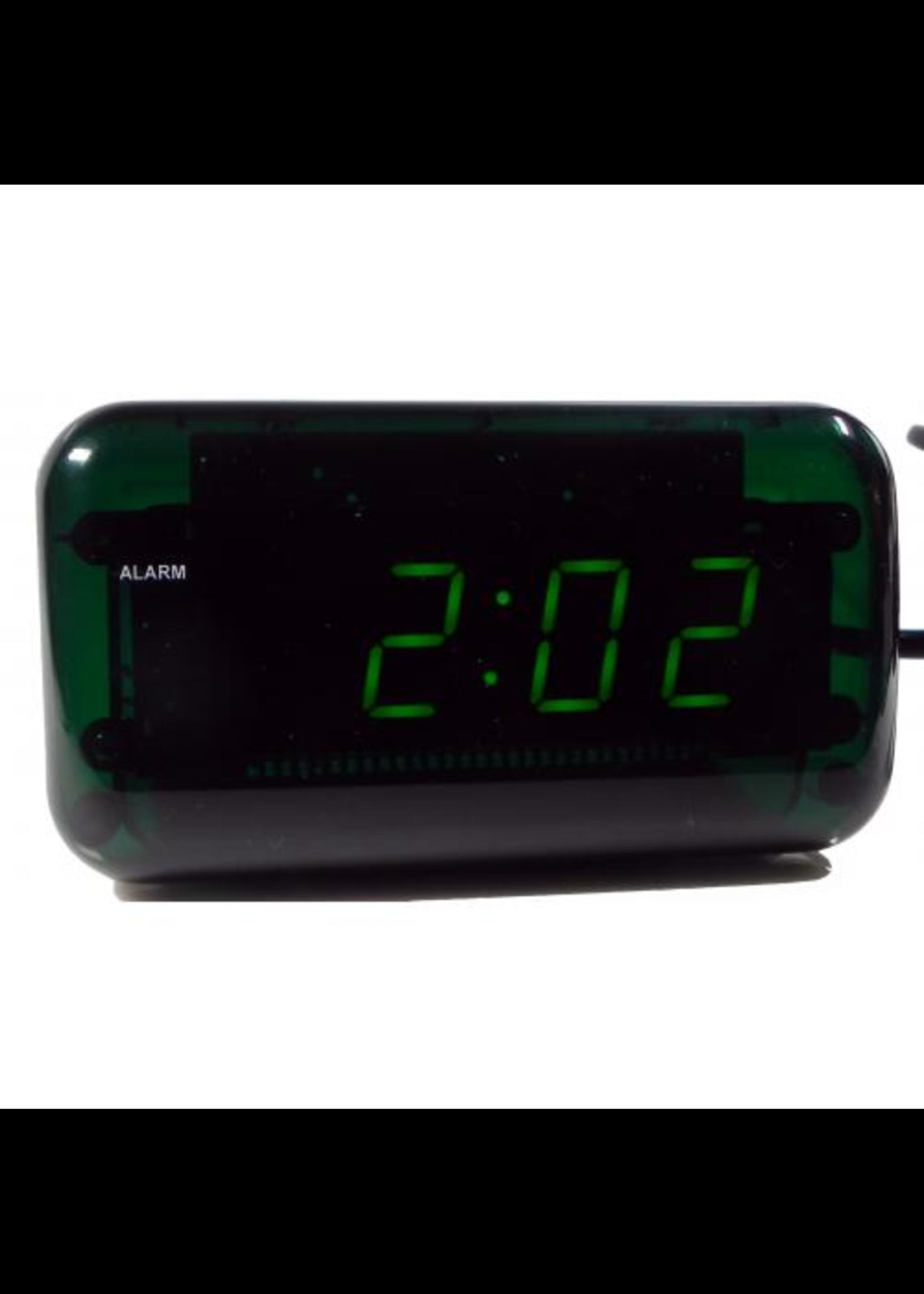 Wekker LED GREEN modern design