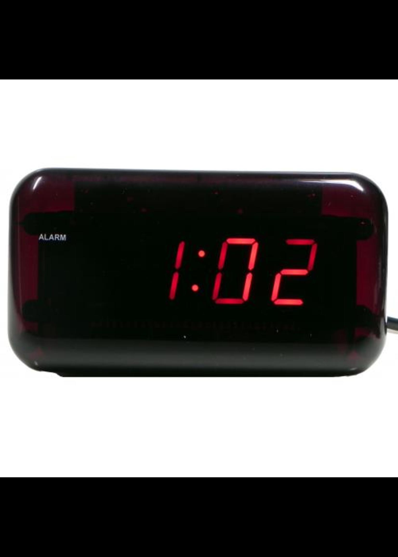Wekker LED RED modern design