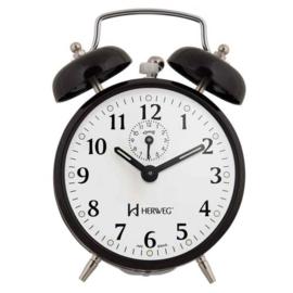 Cetronics Alarm mechanisches schwarz modernes Design