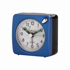 Cetronics Reisen Uhrformat MINI Blau