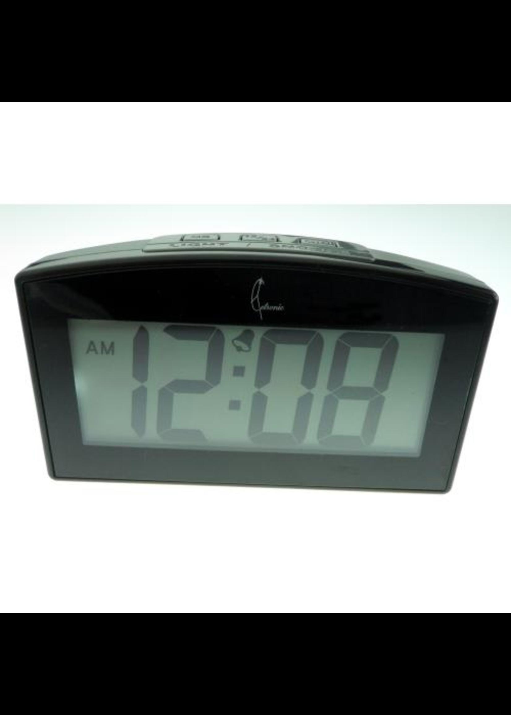 Wekker LED IN BLACK modern design