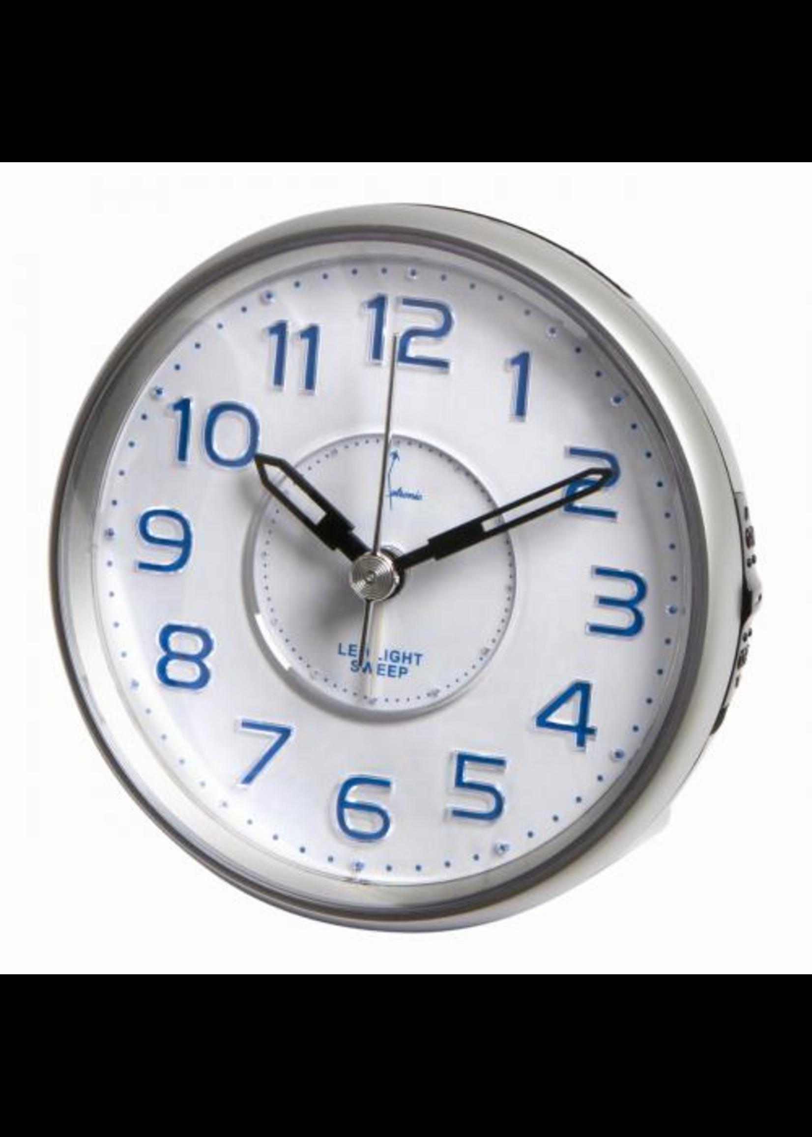 Wekker Silver Modern Design