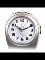 Wekker zilver modern design